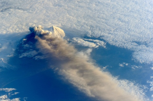 Pavlof Volcano, Aleutian Islands, Alaska, May 18, 2013/NASA Earth Observatory