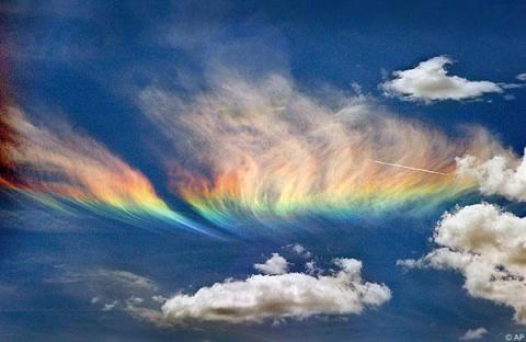 Fire Rainbow, northern Idaho, June 3, 2006/Snopes.com