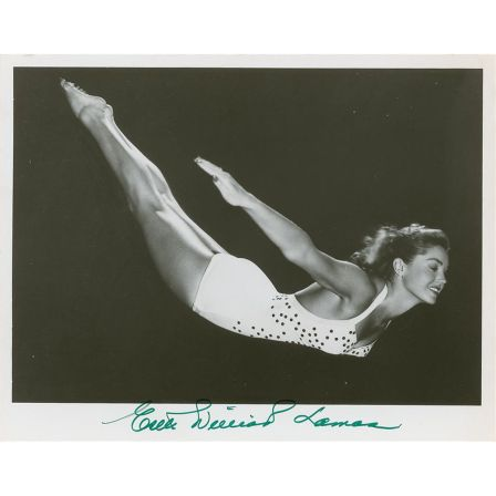 8x10 autographed photo of Esther Wiliams Lamas/icollectors.com