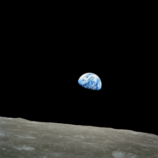Earthrise, December 24, 1968/NASA