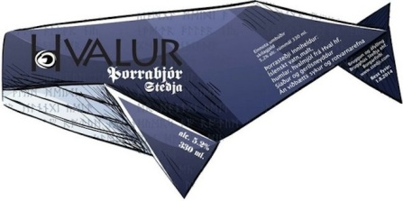 Label for Stedji's whale beer / Anchorage Daily News