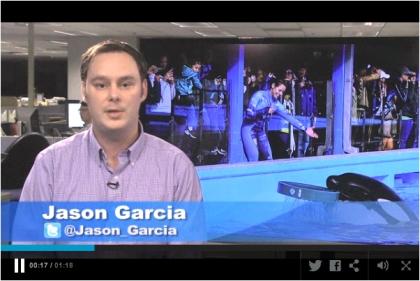 "Orlando Sentinel reporter Jason Garcia discusses SeaWorld's response to ""Blackfish"" / Orlando Sentinel"