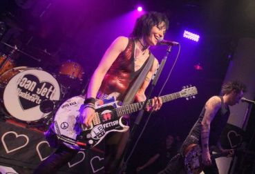 Joan Jett, location and date unknown/Mike Lawrie, Getty, San Antonio Express-News