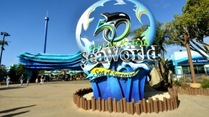 SeaWorld 50th Anniversary Sculpture, SeaWorld San diego, undated/Mike Aguilera, SeaWorld San Diego