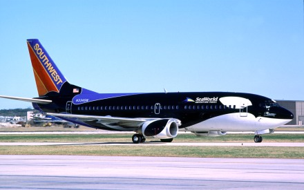 Southwest Airlines Shamu One, undated/The Dallas Morning News