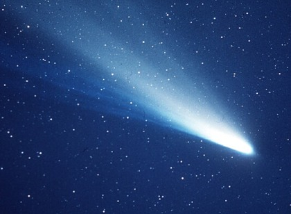 Comet Halley, source of Eta Equarid Meteor Showers, undated/ESA, Max Planck Institute for Solar System Research, NASA/Click to learn more.