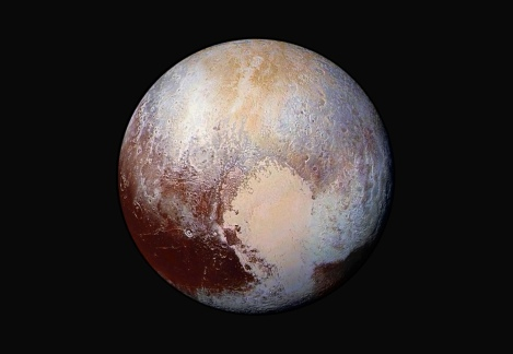 Pluto / The Guardian, NASA, New Horizons / Click to see more.