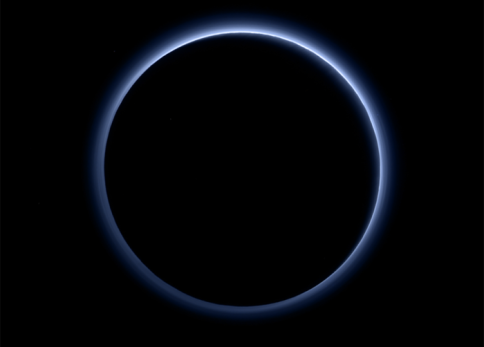 Pluto photographed by New Horizons spacecraft / NASA, JHAUPL, SwRi / Click to learn more.