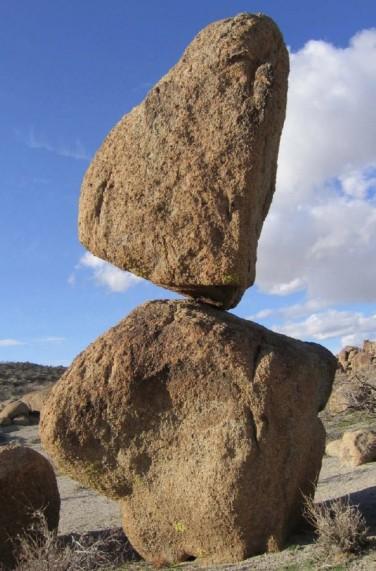 Balanced Rocks, Searchlight, Nevada, undated / Nick Hinze, Nevada Bureau of Mines & Geology / Click to learn more.