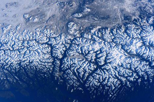 West coast of Canada, December 31, 2015 / Tim Peake, ISS, NASA / Click to see and learn more.