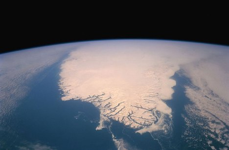 Greenland from space, undated / NASA, Discovery News / Click to learn more.