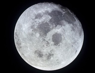 Earth's moon / NASA, UCDavis, University of California News / Click for more.