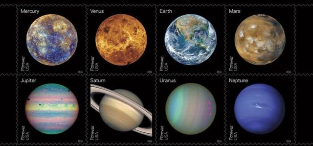 Planet Stamps / NASA, USPS / Click to learn more.