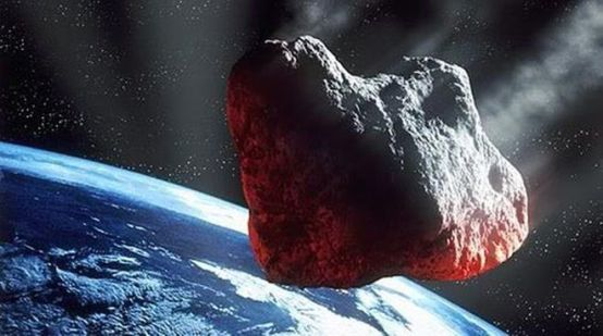 Illustration of large meteor heading toward Earth / ESA / Click to learn more.
