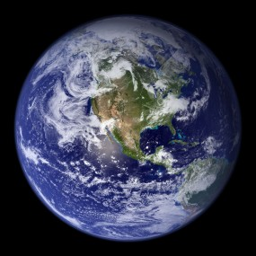 The Blue Marble, February 8, 2002 / NASA