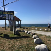 Lookout point of 1967 UFO incident, Shag Harbor, NS, 9/14/16