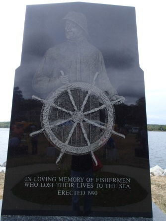 Memorial to Lives Lost at Sea, Shelburne, NS, 9/18/16