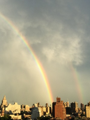 Double Rainbow, NYC, July 1, 2017 / GKWallace
