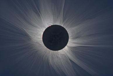 Total Solar Eclipse, undated / M. Druckmüller, NASA / Click for more.
