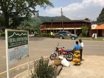 Street scene, junction outside lunch spot, Kisoro, Uganda