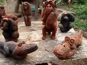 Figurines, Bigodi Wetlands Sanctuary