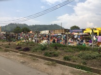 Outskirts of market, Kisoro