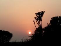 Sunrise, Mweya Peninsula, Queen Elizabeth NP