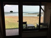 Room view of Kazinga Channel, Mweya Safari Lodge, Queen Elizabeth NP