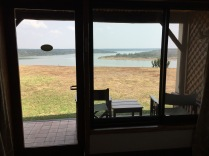 Room view of Kazinga Channel, Mweya Safari Lodge, Queen Elizabeth NP