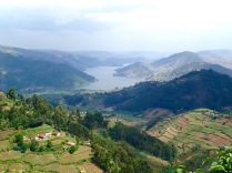 View of Lake Bunyonyi
