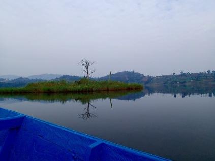Approaching Punishment Island, Lake Bunyonyi