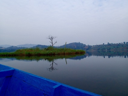 Approaching Punishment Island, Lake Bunyonyi