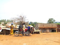 Road to Kampala