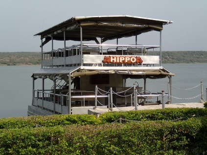 Tour boat Hippo, Kazinga Channel, Queen Elizabeth NP