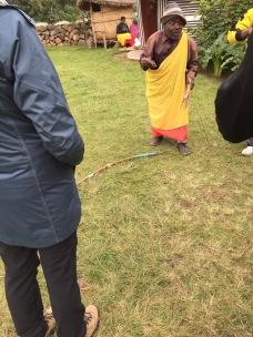 Batwa archer-hunter, Iby'Iwacu Cultural Village, Kinigi