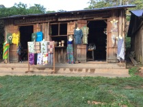 Craft shop down the road from Sanctuary Gorilla Forest Camp, Bwindi Impenetrable NP
