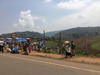 Heading to market, Kisoro