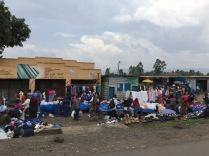Outskirts of market, Kisoro