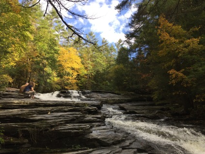 Umpachene Falls, New Marlborough MA, Sunday Oct. 7, 2018