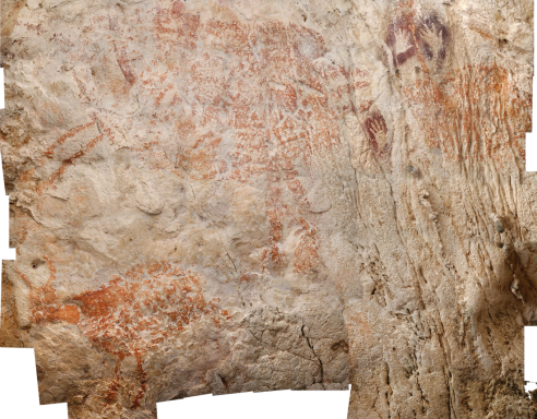 Cave painting discovered in Eastern Borneo / Luc-Henri Fage, Nature, NPR / Click for more.