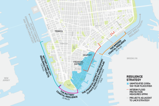 Mayor de Blasio's $10 billion plan to protect NYC waterfront / NYC Mayor's Office, New York Magazine / Click for more.