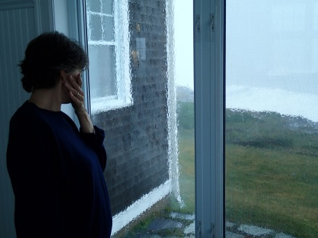 Gini watches Dorian, Kingsburg, NS, 2:00 p.m., Saturday, September 7, 2019