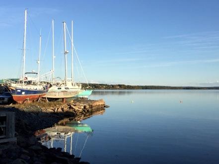 Pictou Harbour, Pictou, NS, Monday, September 9, 2019
