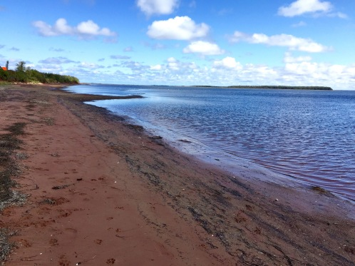 South shore, Lennox Island, PEI, Thursday, September 12, 2019