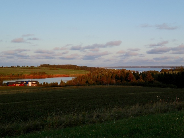 En route from French River to Stanley Bridge, PEI, Thursday, September 12, 2019