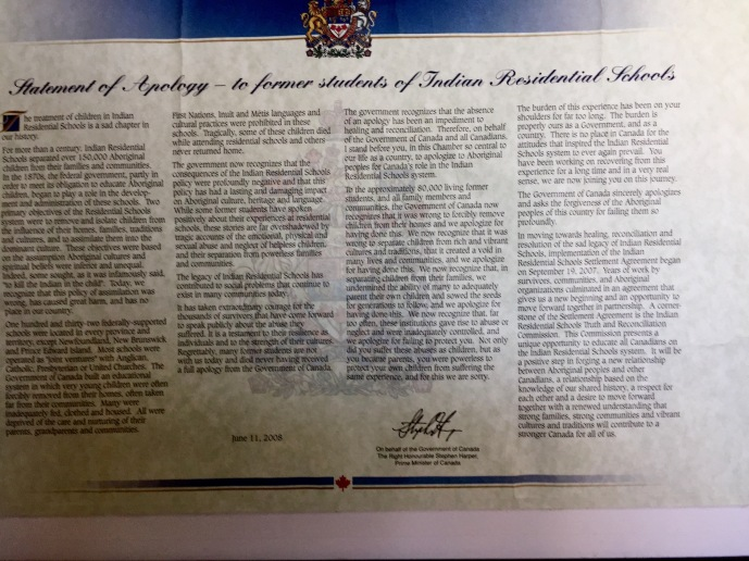 Lennox Island Mi'kmaq Culture Center, Thursday, 9/12/19 / Click image for more information.